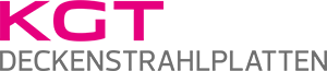 Kgt deckenstrahlplatten logo rgb farbe